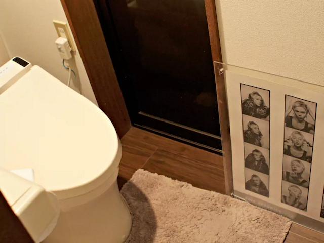 HokusaiStay トイレ グレートステイの旅館