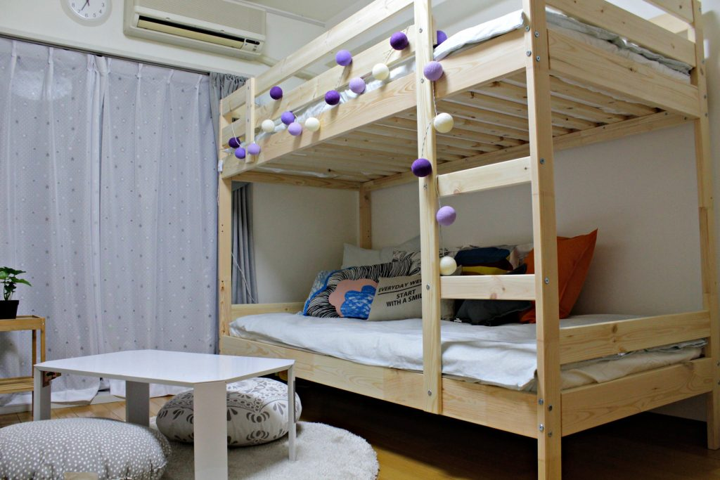 airbnb 弊社プロデュース後のお部屋の状態
