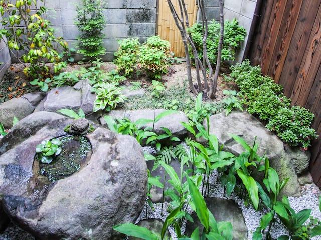 鹿野リゾート 中庭